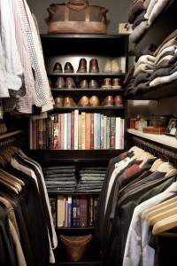 Closet Masculino se bem organizado, agiliza a escolha da roupa e otimiza o tempo.