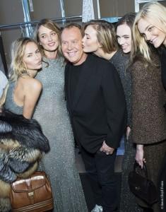 Backstage the Michael Kors Fall-Winter 2015-2016 show,Vogue English