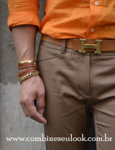 Acessórios Hermès belt - stacked bracelets LOGO SITE