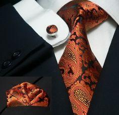 Look cam gravata LARANJA CASHMERE Blz Pto