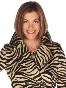 TRENCH COAT zebra Wendie Malick