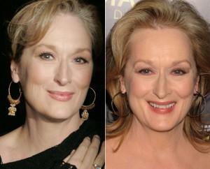 MAKE UP PELE MADURA Meryl Streep