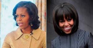 Cabelo Michelle Obama
