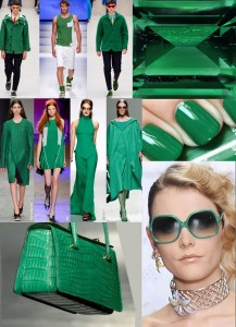 Fashion Colours SS 2015 VERDE ESMERALDA