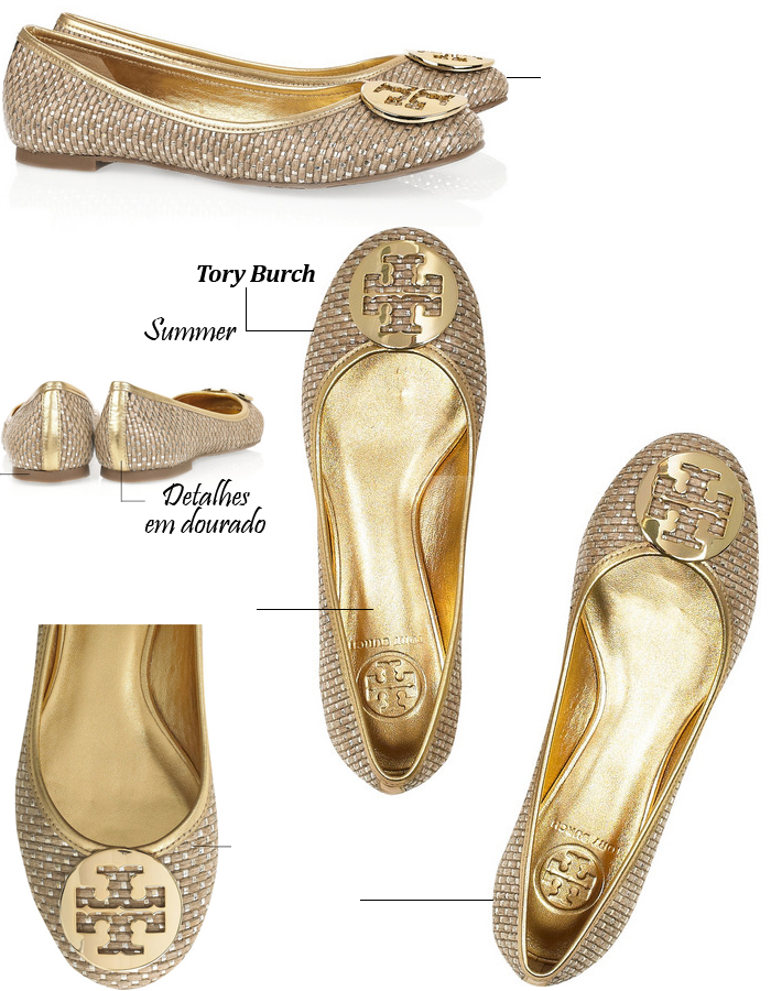 525b05017 Tory Burch's iconic Reva ballet flat SAPATILHA ORIG Tory Burch SAPATILHA  VERM TORY BURCH. A FAMOSA ...