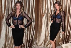 Gisele Bündchen lança coleção de lingerie