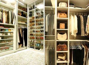 Closet projetado pela designer de interiores Jóia Bérgamo (Foto Graziella Widman-Editora Globo)