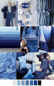 2017 pattern & colors trends color palette TRUE BLUE logo site