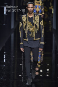 Balmain Paris Menswear Fall Winter 2017 - January 2017