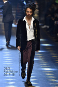 Dolce Gabbana Milan Menswear Fall Winter 2017 - January 2017