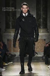 Les Hommes, Fall Winter 2017 Menswear Collection in Milan